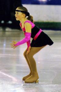 Katie skating at Bradford