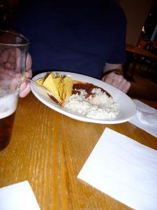 chili & rice